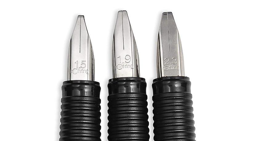 Puntas de plumas para caligrafía Rotring