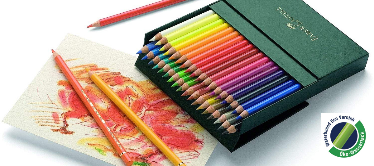 Lápices de colores de sección redonda