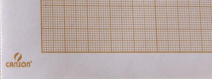 Lámina de dibujo milimetrada