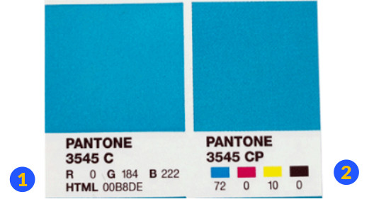 Pantone Colour Bridge