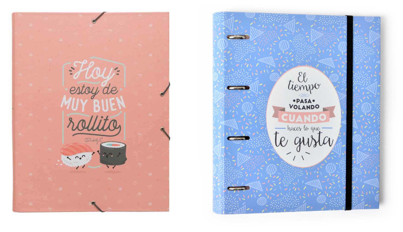 Archivador escolar Mr. Wonderful
