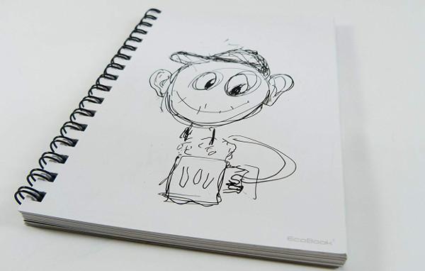Cuaderno de pizarra Ecobook