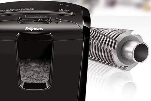 Cuchillas de una trituradora de papel