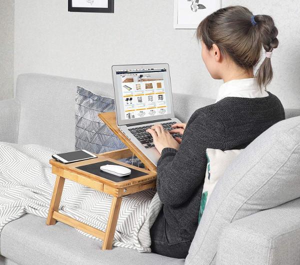 Mesas auxiliares para ordenador portátil