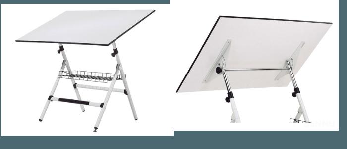 Mesas para dibujar sencillas