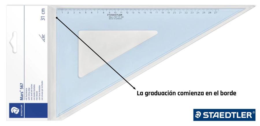 Escuadras Para Dibujo Técnico Faber Castell Y Staedtler