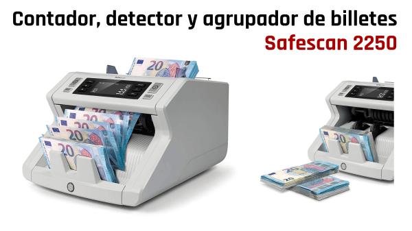 Contadora y detectora de billetes Safescan 2250