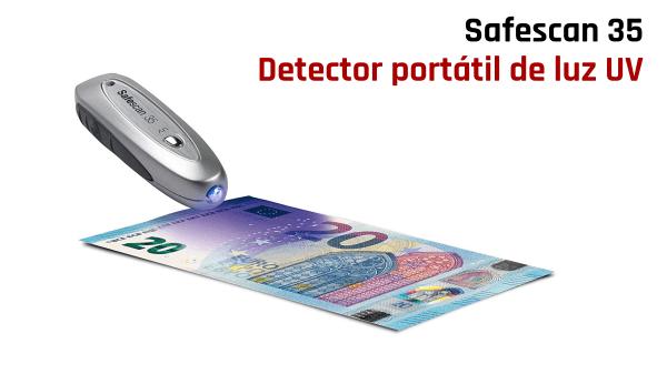 Detector portátil de billetes falsos Safescan 35