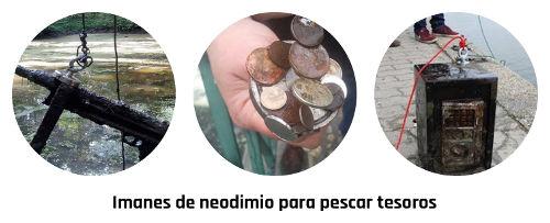 Imanes de neodimio para lagos y embalses