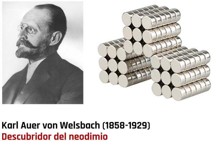 Karl Auer von Welsbach Descubridor del neodimio