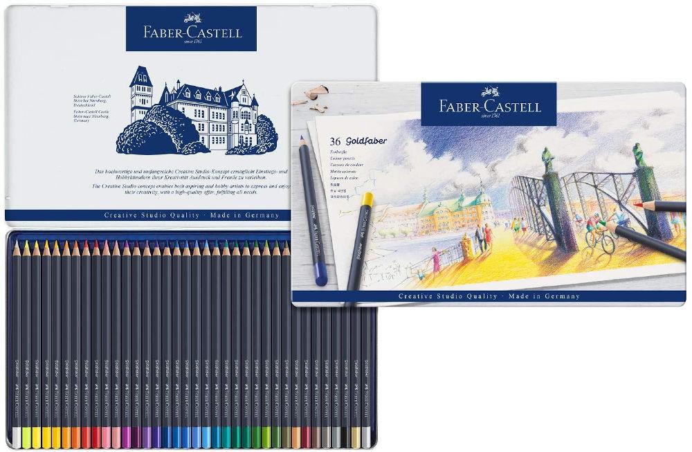 Lápices de colores Faber-Castell Goldfaber