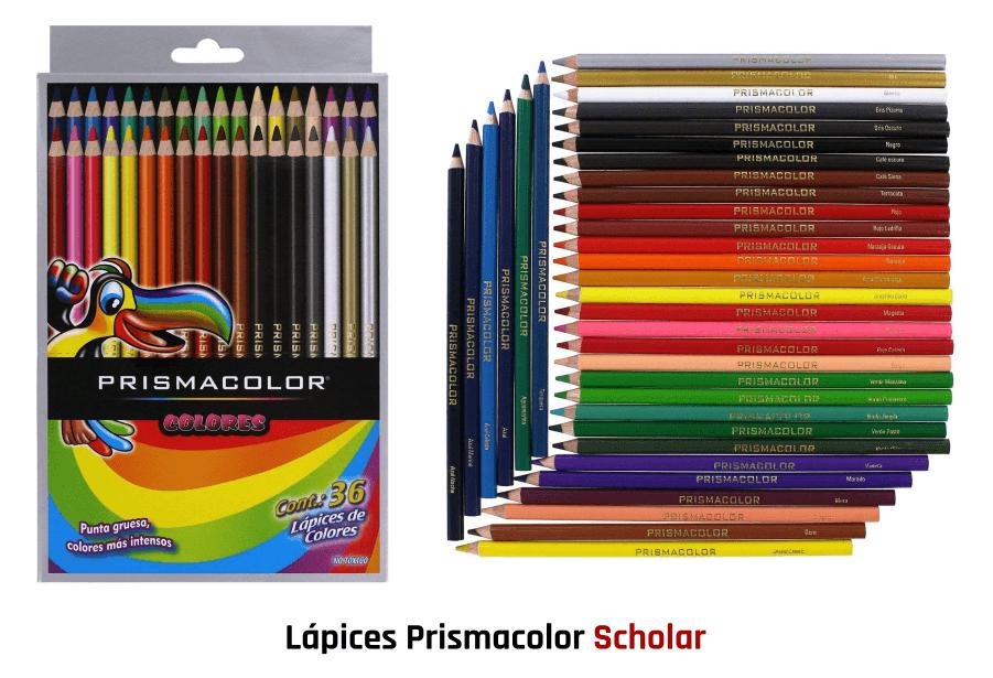 Lápices Prismacolor Scholar