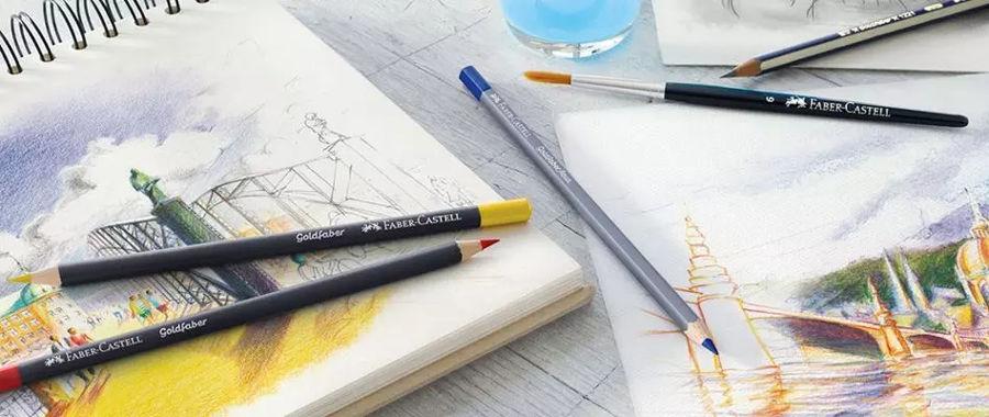 Lápices Faber-Castell Goldfaber Aqua