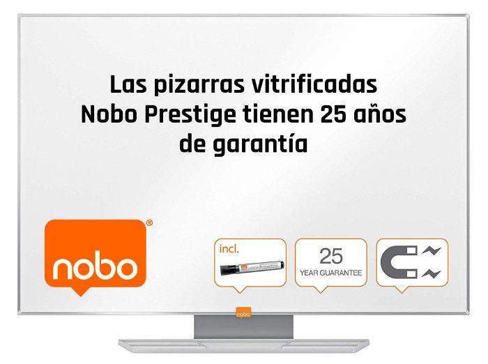 Mejor pizarra blanca Nobo Prestige 25 años garantía