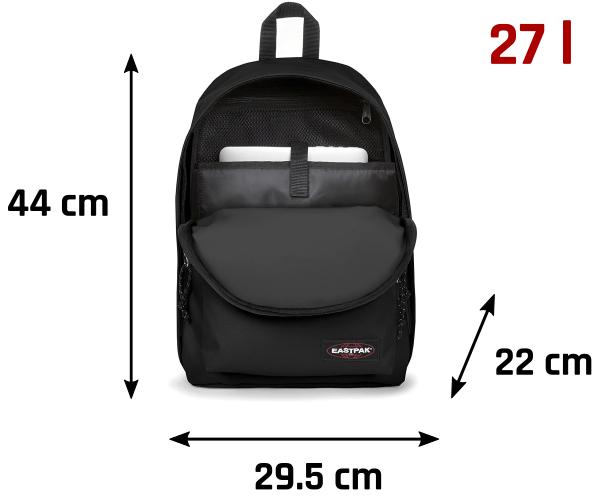 Medidas mochila Eastpak para ordenador portátil