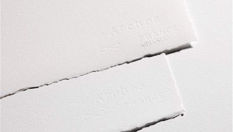 Papel para acuarela Arches