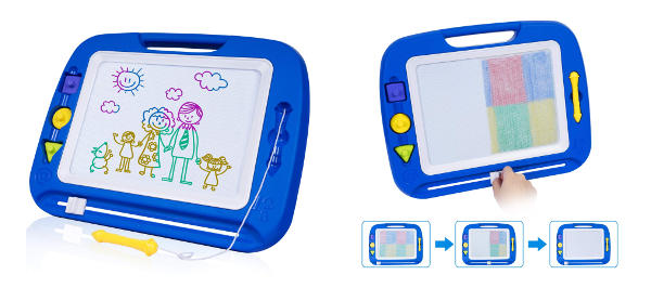 Pizarra magnética para niños tipo Telesketch