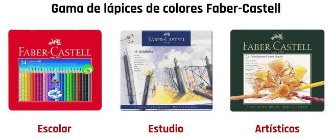 Tipos de lápices Faber-Castell