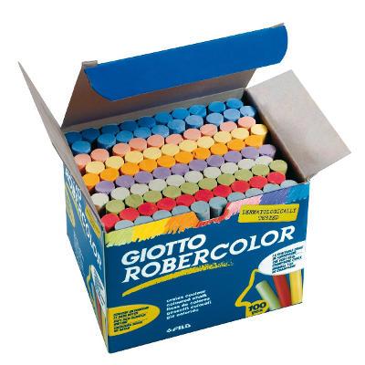 Tizas de colores antipolvo sin alegias