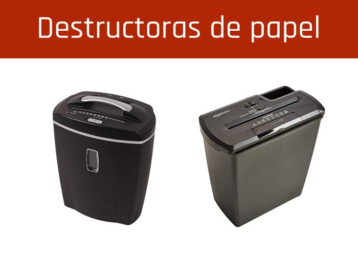 Destructoras de papel