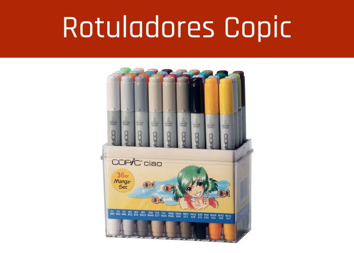 Rotuladores Copic