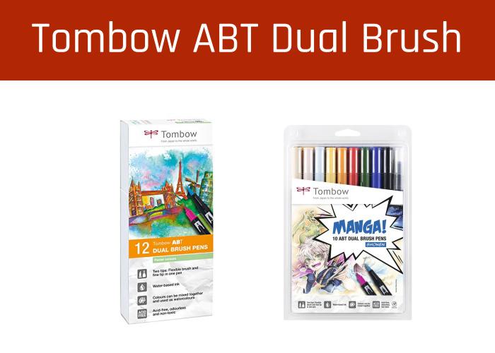 Rotuladores Tombow ABT Dual Brush