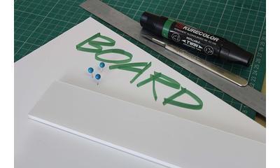 Cartón pluma, el material ideal para montajes gráficos