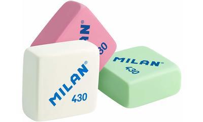 Las mejores gomas de de borrar de Milan: 430 y Nata 624