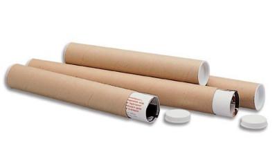 Tubos de envío para planos y pósteres